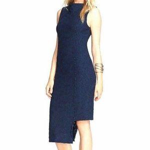 Free People Jacquard Stretch Knit Midi Dress A1314